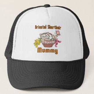Oriental Shorthair Cat Mom Trucker Hat