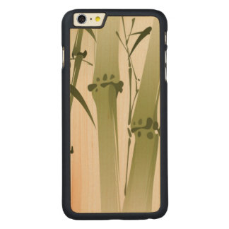 Oriental style painting, bamboo branches 2 carved® maple iPhone 6 plus case