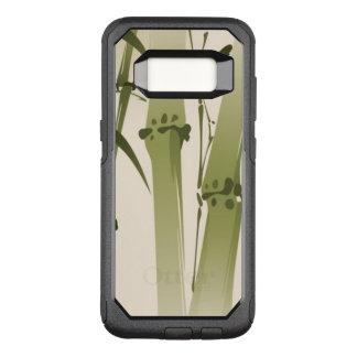 Oriental style painting, bamboo branches 2 OtterBox commuter samsung galaxy s8 case