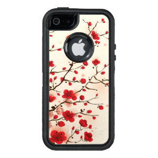 Oriental style painting, plum blossom in spring OtterBox iPhone 5/5s/SE case