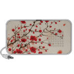 Oriental style painting, plum blossom in spring speaker