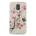 Oriental Style Sakura Cherry Blossom Art Case For Galaxy S5