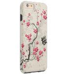Oriental Style Sakura Cherry Blossom Art Tough iPhone 6 Plus Case
