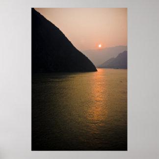 Oriental Sunrise Poster
