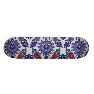 oriental-tile-pattern skate board