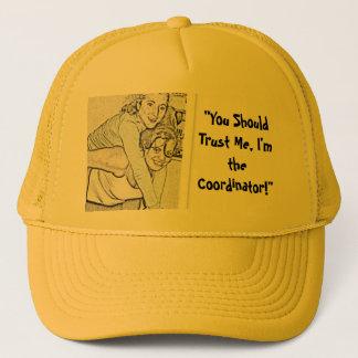 Orientation 09 trucker hat
