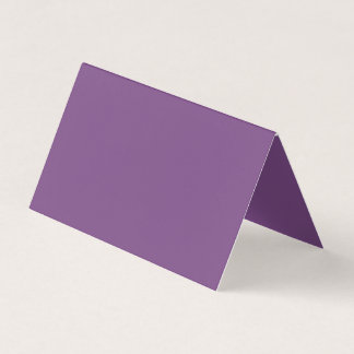 Orientation: Folded Horizontal Tent Don't be like Business Card