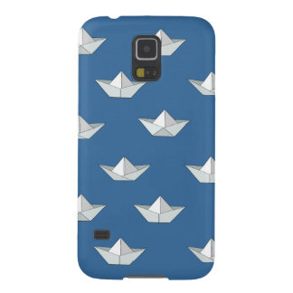 Origami Boats On The Water Pattern Galaxy S5 Case