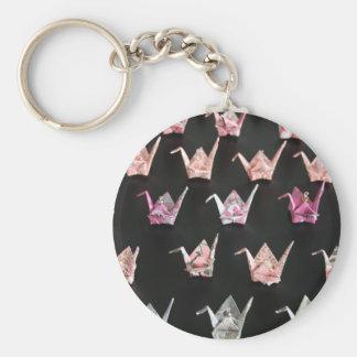Origami Crane Ornaments Keychain