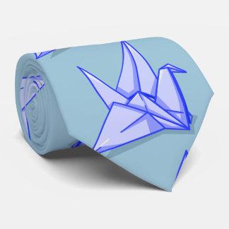 Origami Crane Paper Craft Tie