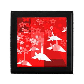 Origami Cranes Tile Box