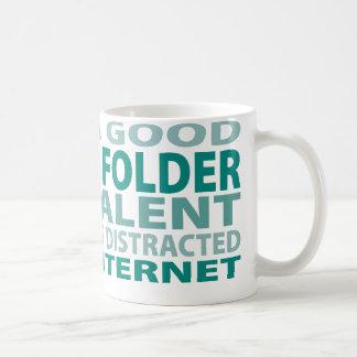 Origami Folder 3% Talent Coffee Mug