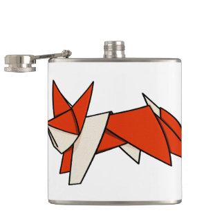 Origami Fox Flasks
