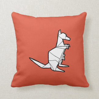 Origami Kangaroo Pillow