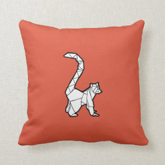 Origami Lemur Pillow