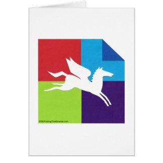 Origami/Pegasus Card