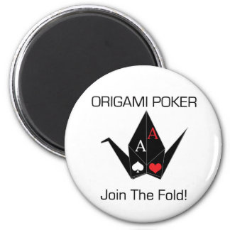 Origami Poker Card Protector/Magnet! Magnet