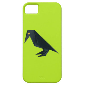 Origami Raven iPhone 5 Covers