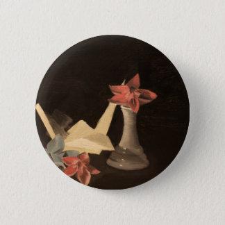Origami Still Life 2 Inch Round Button