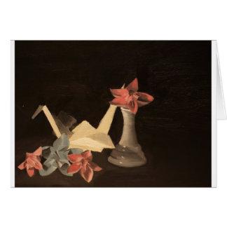 Origami Still Life Card