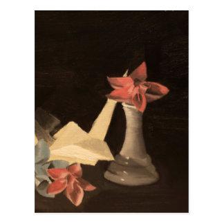 Origami Still Life Postcard