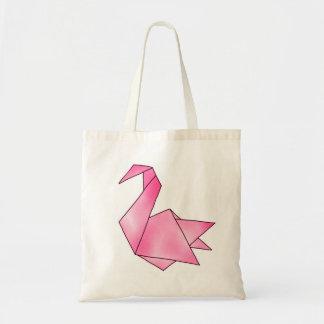 Origami Swan Tote Bag