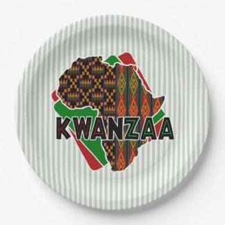 Origin Kwanzaa Party Paper Plates