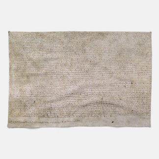 ORIGINAL 1215 Magna Carta British Library Kitchen Towel