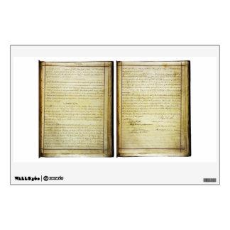 ORIGINAL 14th Amendment U.S. Constitution Wall Sticker