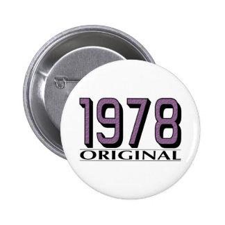 Original 1978 badge avec épingle