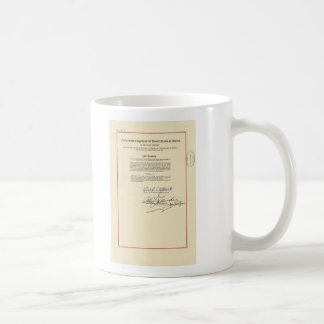 ORIGINAL 26th Amendment U.S. Constitution Coffee Mug