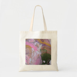 Original Abstract Art Acrylic Pour Tote