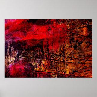 Original Abstract Art Print - Action Abstract
