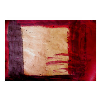 Original Abstract Art Print - Rothko Style
