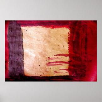 Original Abstract Art Print - Rothko Style