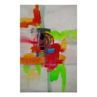 Original Abstract Artwork Stationery