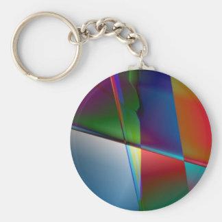 Original Abstract Keychain