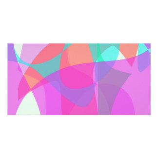 Original Abstract Photo Card Template