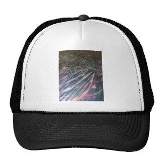 original alien landscape techno artist view trucker hat
