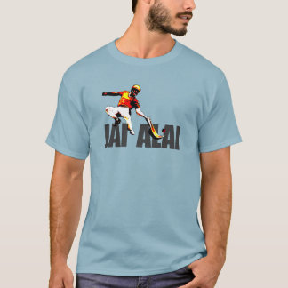 Original and striking Jai Alai logo, T-Shirt