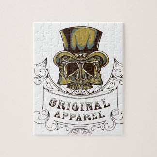 original apparel scary skull jigsaw puzzle