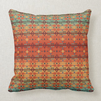Original Art by Cherie   Southwestern   Tribal Throw Pillow