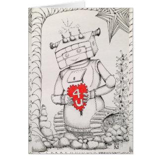 Original Art Note Card, Standard white envelopes Card