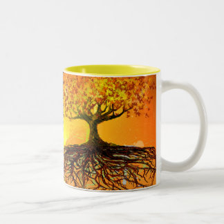 Original Art-Roots Run Deep Coffe Mug