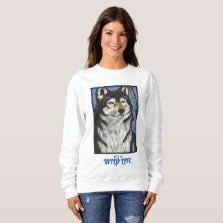 Original Art Wolf Sweat Shirt
