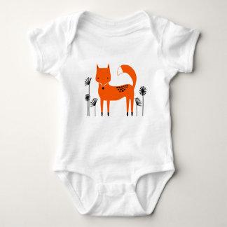 """Original art work"" country wild fox Baby Bodysuit"