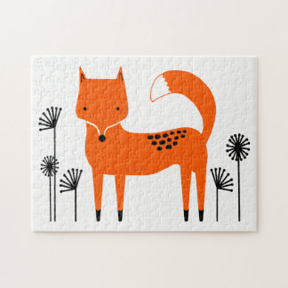 """Original art work"" Fred the Fox Jigsaw Puzzle"
