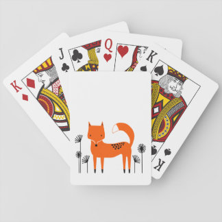 """""""Original art work"""" Fred the Fox Playing Cards"""