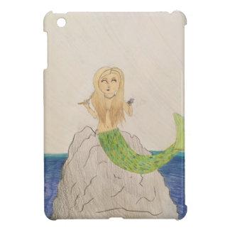 Original artwork Mermaid Seas iPad mini case