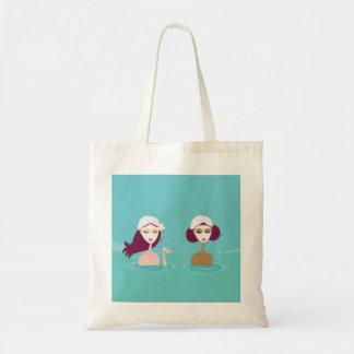 Original bag with spa girls